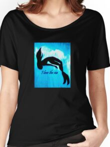 I love the sea Women's Relaxed Fit T-Shirt