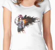 Touka - Tokyo Ghoul Women's Fitted Scoop T-Shirt