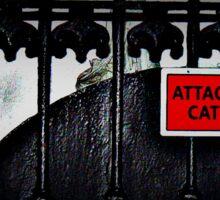 Attack Cat!  Sticker