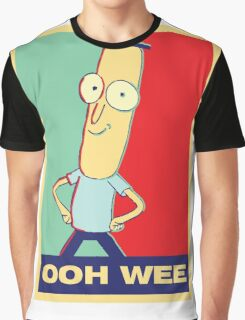"""Rick and Morty: Mr.PoopyButthole """"ooh wee"""" Graphic T-Shirt"""