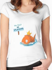 Pokemon - Magikarp - Pokemon Women's Fitted Scoop T-Shirt