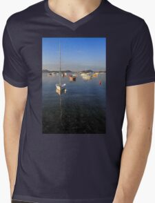 Becalmed Mens V-Neck T-Shirt