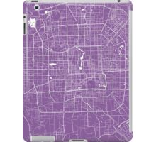 Beijing map lilac iPad Case/Skin