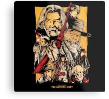 The Hateful eight by quentin tarantino movie Metal Print