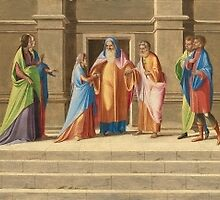 Italian, The Presentation and Marriage of the Virgin, and the Annunciation, by Adam Asar
