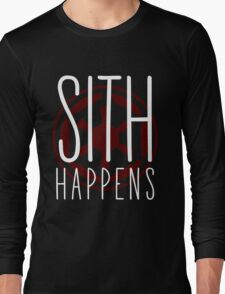 Sith Happens | Logo version Long Sleeve T-Shirt