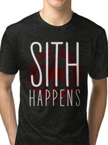 Sith Happens | Logo version Tri-blend T-Shirt