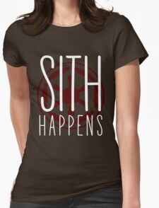 Sith Happens | Logo version Womens Fitted T-Shirt