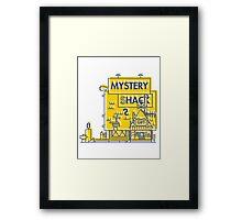 Mystery Shack Framed Print