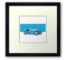 Bugatti Classic Vintage Framed Print