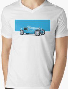 Bugatti Classic Vintage Mens V-Neck T-Shirt