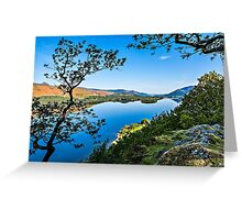 Suprise View Derwentwater Greeting Card