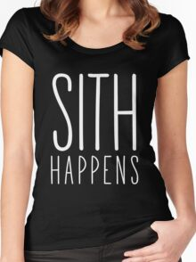 Sith Happens | Blank version Women's Fitted Scoop T-Shirt