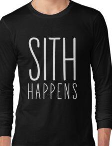 Sith Happens | Blank version Long Sleeve T-Shirt
