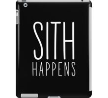 Sith Happens | Blank version iPad Case/Skin