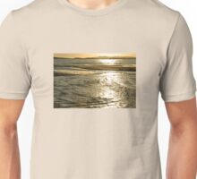 Golden Sea on Anglesey Unisex T-Shirt