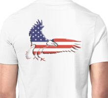 AMERICAN, Eagle, America, Bald Eagle, Bird of Prey, War, American Flag, Stars & Stripes, America, USA,  Unisex T-Shirt