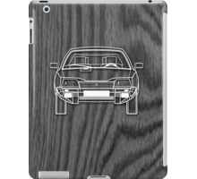 Citroen CX Outline Drawing on Black Oak iPad Case/Skin