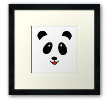 Cute little Panda Framed Print