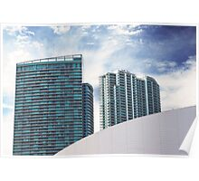 Miami Airlines Arena Poster
