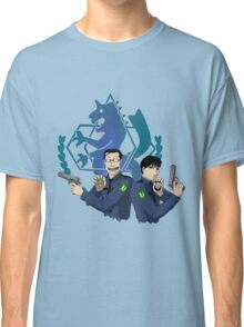 Roy Mustang and Maes Hughes FullMetal Alchemist Classic T-Shirt