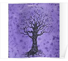 tree of Life violet Poster