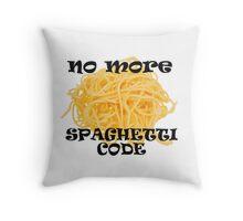 Spaghetti Code Throw Pillow