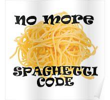 Spaghetti Code Poster