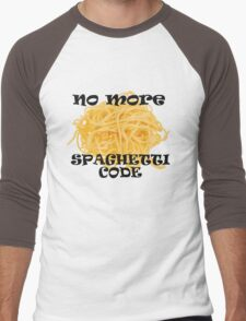 Spaghetti Code Men's Baseball ¾ T-Shirt