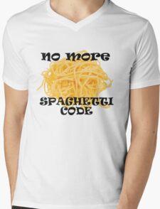 Spaghetti Code Mens V-Neck T-Shirt