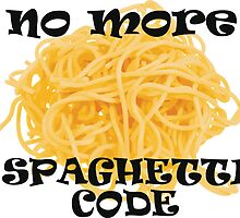 Spaghetti Code by giovybus