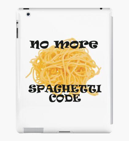 Spaghetti Code iPad Case/Skin