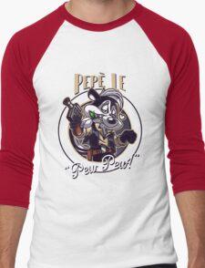 Pepe Le Pew Pew! Men's Baseball ¾ T-Shirt