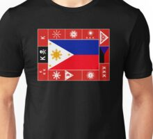 Philippine Flags Unisex T-Shirt