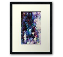 Ocean waving at us Framed Print