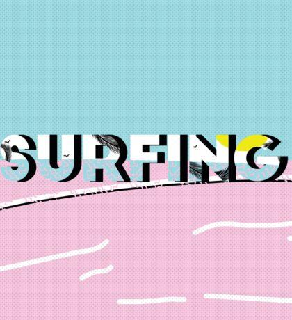 Surfing-D Sticker