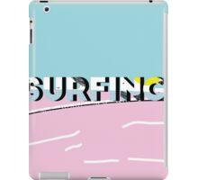 Surfing-D iPad Case/Skin