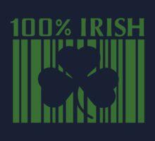 100% Irish St. Patricks Day Kids Tee