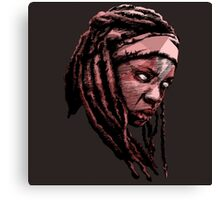 Michonne The Walking Dead Canvas Print