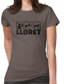 Lloret party Womens Fitted T-Shirt