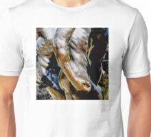 Musée Rodin Sculpture Garden, Paris, Les trois Ombres Unisex T-Shirt