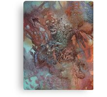 The Unfathoming Canvas Print