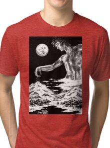 The Creation of Winter Tri-blend T-Shirt
