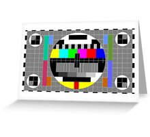 Test card Greeting Card