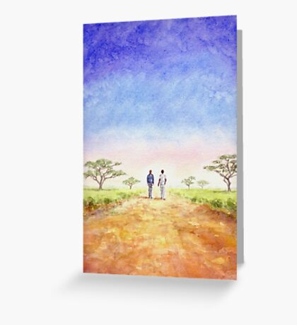 African Journey Greeting Card