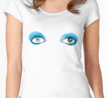 David Bowie's Eyes Women's Fitted Scoop T-Shirt