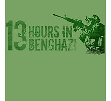 13 hours the secret soldiers of benghazi Photographic Print