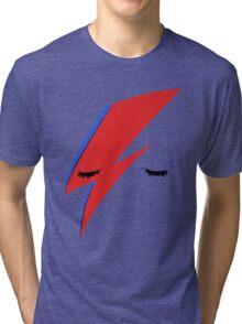 BOWIE ALADDIN SANE Tri-blend T-Shirt