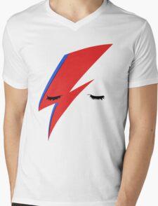 BOWIE ALADDIN SANE Mens V-Neck T-Shirt
