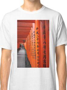 Japanese Toriis Classic T-Shirt